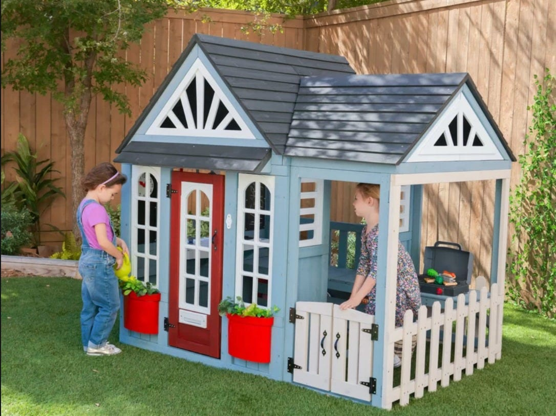 Ideal Outdoor Playhouses For Toddlers